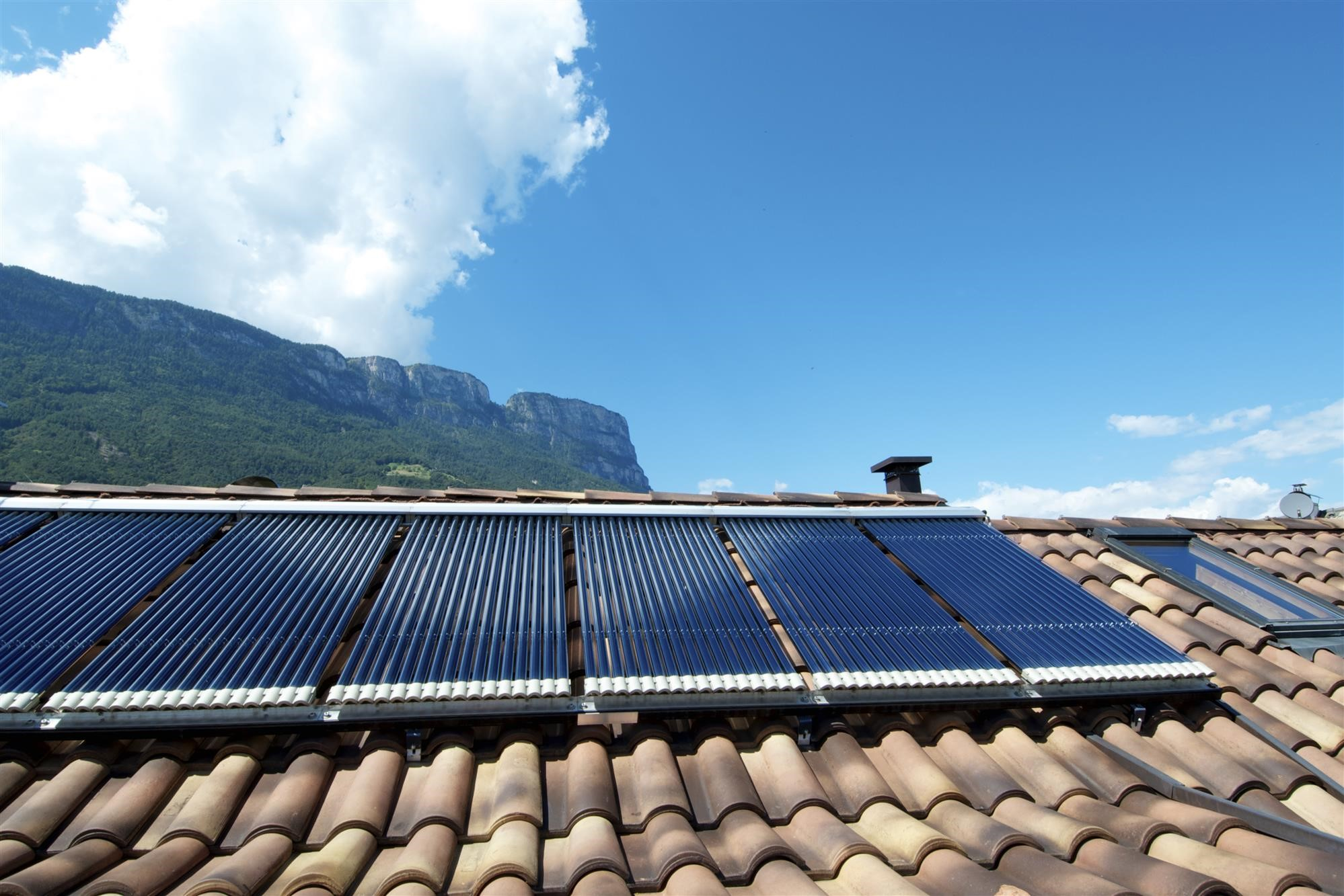 Solar Thermal, Water Heater panels